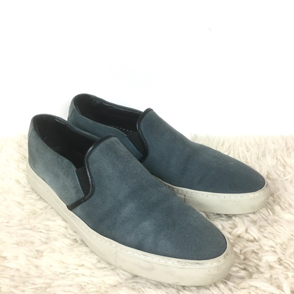 4d4757330e69 Common Projects Shoes | Suede Leather Slip On Sneaker | Poshmark